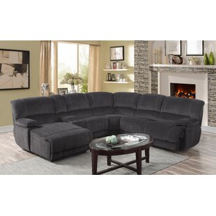 Price comparison Winchelsea Reclining Sectional Collection by Ebern Designs Reviews (2019) & Buyer's Guide