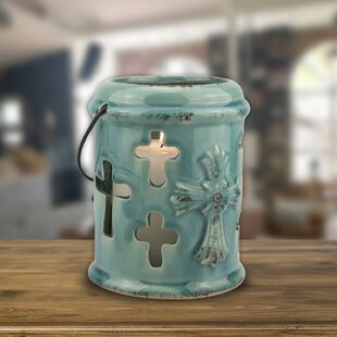 Accents of Faith Ceramic Hanging Lantern by CKK Home D?cor, LP