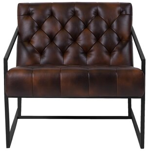 Online Reviews Vidrine Leather Lounge Chair by Comm Office