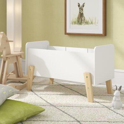 Spielzeugkiste Eckert   Kinderzimmer > Spielzeuge > Spielzeugkisten   Weiß   Mdf - Massiver - Kiefer   Isabelle & Max