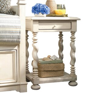 Bluhm End Table with Storage