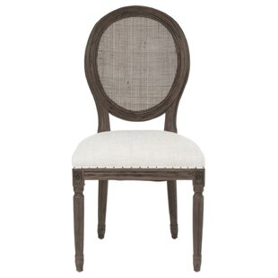 Roxana Upholstered Dining Chair (Set of 2) One Allium Way