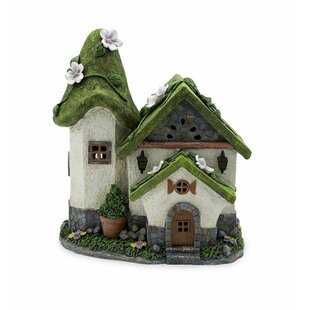 Solar Cottage Fairy Garden by Plow & Hearth
