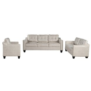 Bakerhill 3 Piece Standard Living Room Set by Red Barrel Studio