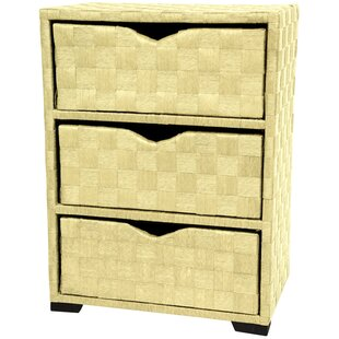 Great Price 3 Drawer Nightstand by Oriental Furniture