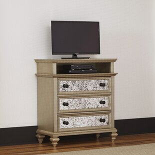 Rosdorf Park Erica 3 Drawer Media Chest