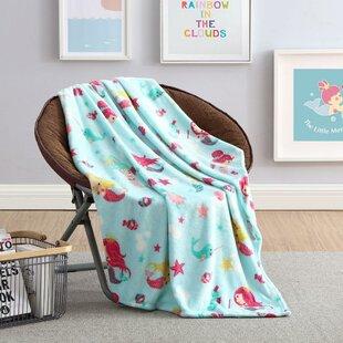 Kids Mermaid Blanket Wayfair