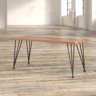 Guyapi Indoor Acacia Wood Coffee Table