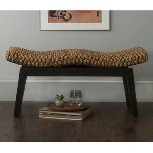 Vincenza Wood Bench by Beachcrest Home
