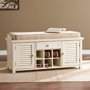 Rosecliff Heights Wood Storage Bench