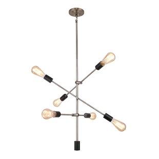 Methuen 6-Light Sputnik Ch..