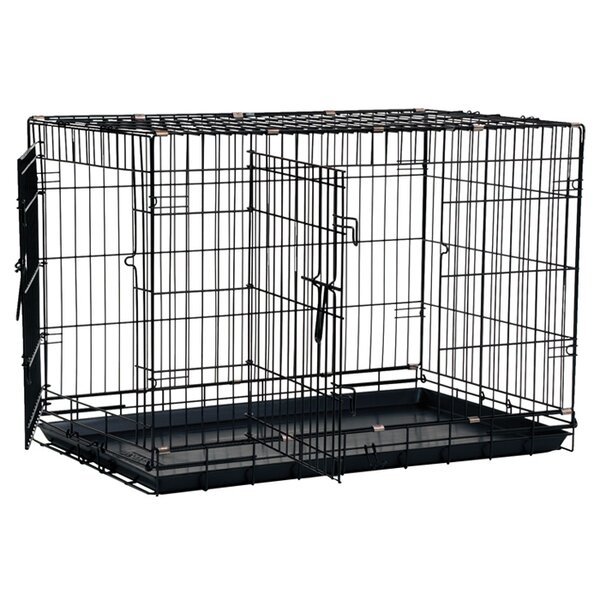 Large Dog Crate With Divider Wayfair