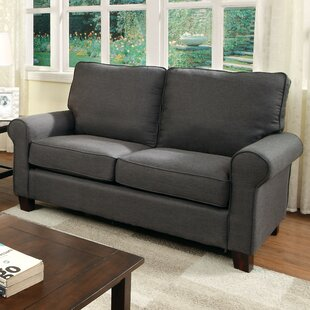 Somerville Modern Loveseat by Alcott Hill