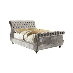 Filey Queen Upholstered Sleigh Bed by Rosdorf Park