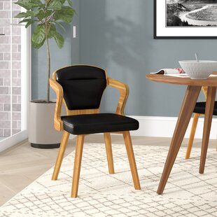 Westphal Bamboo Upholstered Dining Chair ..