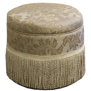 Paisley Print Storage Ottoman by ORE Furniture
