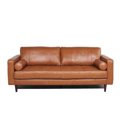 Bickford Sofa Upholstery Color: Camel by Brayden Studio
