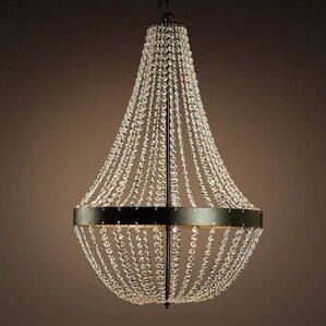 edison noelle 5light empire chandelier - Edison Chandelier