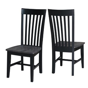 Bezons Solid Wood Dining Chair (Set of 2) by Loon Peak