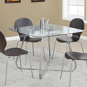Amber Square Dining Table by Latitude Run