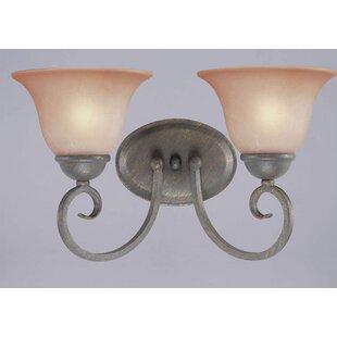 Mcleod 2-Light Vanity Light by Charlton Home