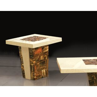 Adamson Pedestal End Table By Foundry Select
