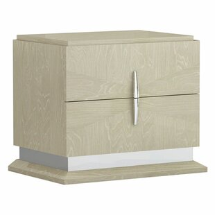 Lechlade Wooden 2 Drawer Nightstand by Brayden Studio