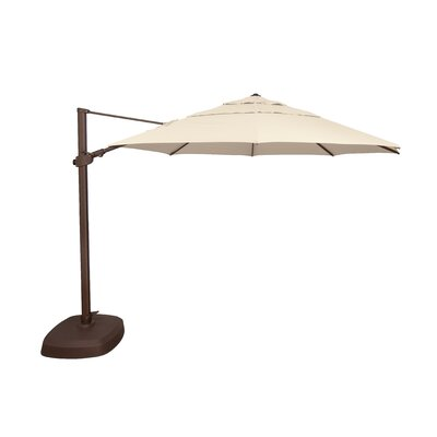 Coralia 11.5 Cantilever Sunbrella by Latitude Run Best Choices