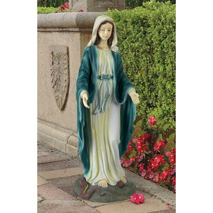 Blessed Mary Statue Wayfair