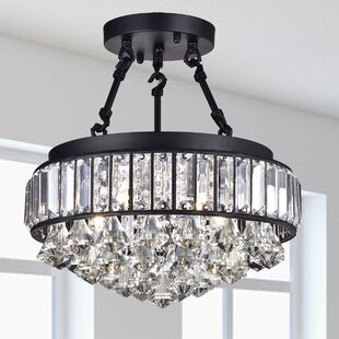 Rosdorf Park Dyer 4-Light Semi-Flush Mount