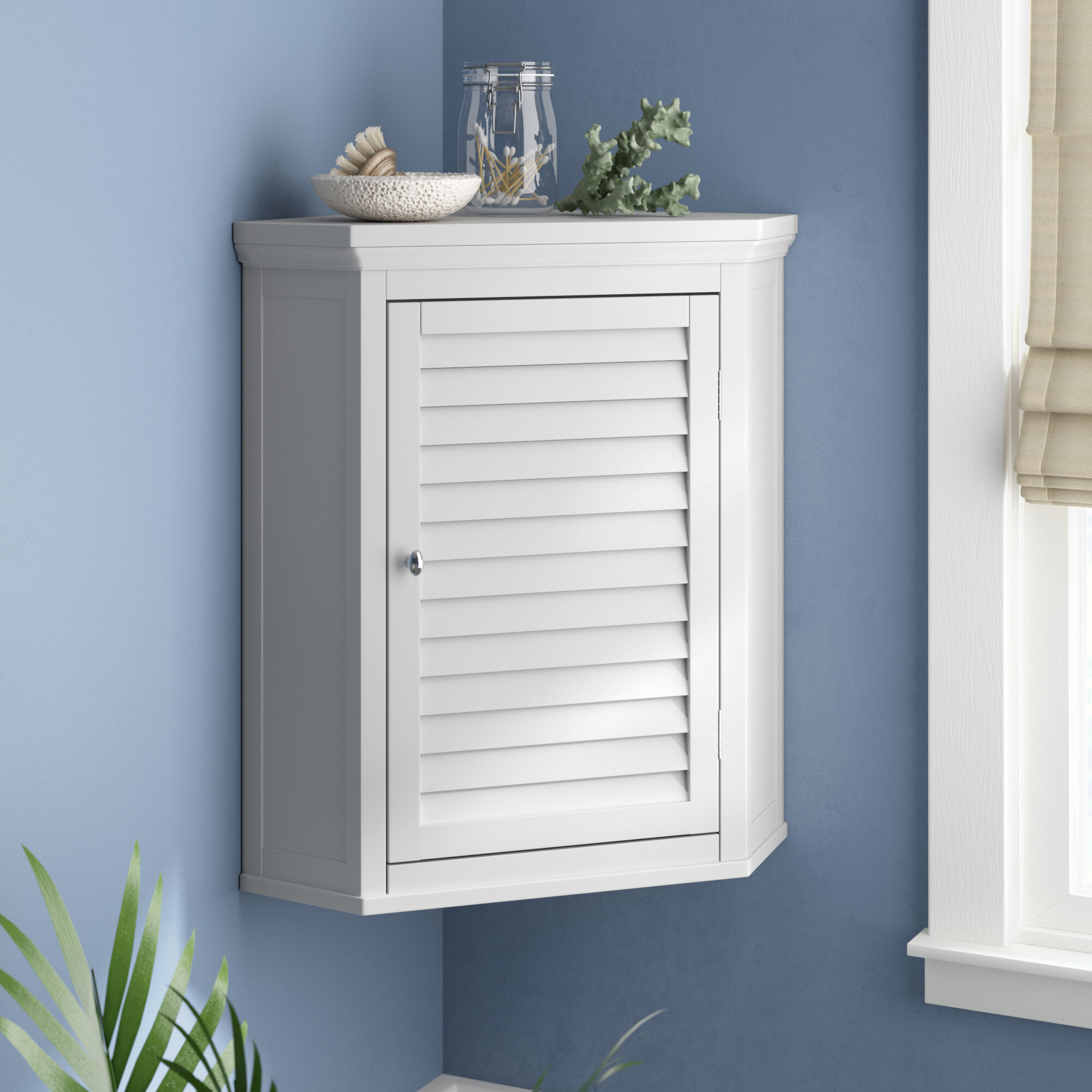 Beachcrest Home Broadview Park 22 5 W X 24 H X 15 D Wall Mounted Bathroom Cabinet Reviews Wayfair Ca