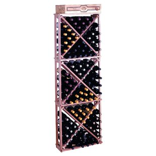 Premium Redwood 132 Bottle Floor Wine Rac..