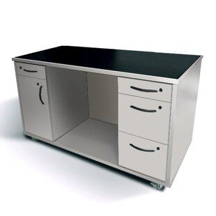 Commercial Grade Mobile Executive Desk by Amcase