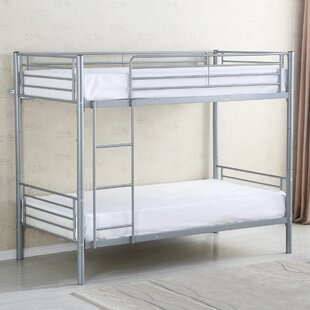 Milania Bunk Bed Frame Ladder by Harriet Bee Fresh