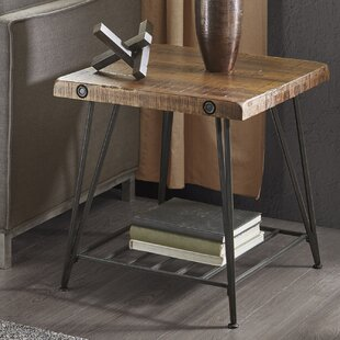 Cesare End Table by 17 Stories
