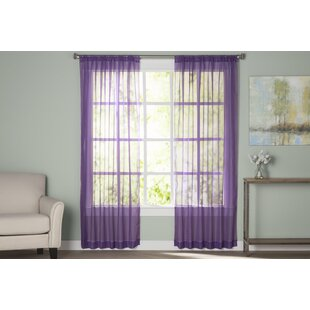 Sheer Lavender Curtains