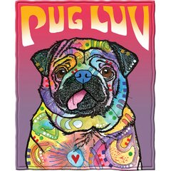 Pug Blanket Wayfair