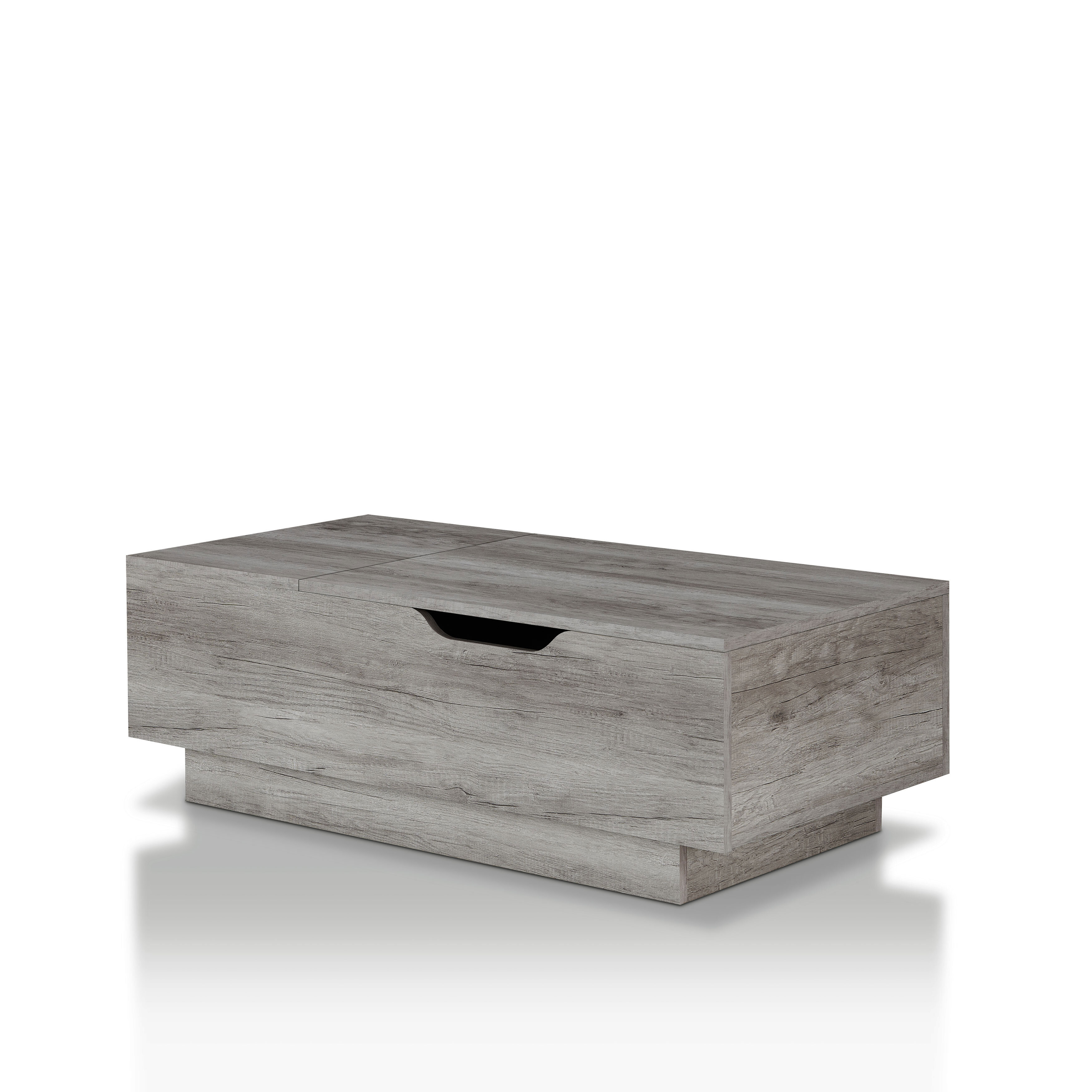 Picture of: Laurel Foundry Modern Farmhouse Colten Lift Top Block Coffee Table Reviews Wayfair