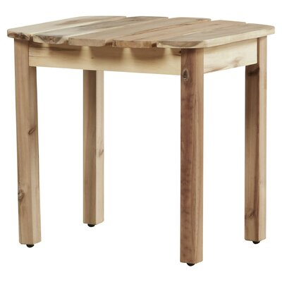 Edgell Solid Wood Side Table by Andover Mills