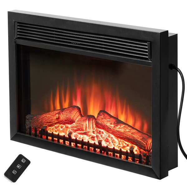 Remarkable Find The Perfect Electric Fireplace Inserts Logs Wayfair Beutiful Home Inspiration Ommitmahrainfo