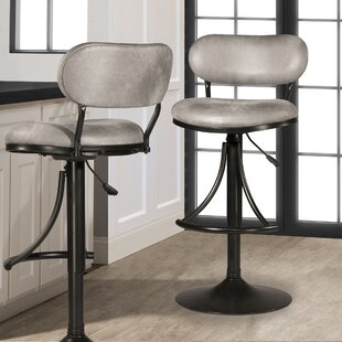 Affordable Bodden Adjustable Swivel Bar Stool by Ivy Bronx Reviews (2019) & Buyer's Guide