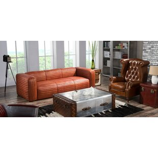 Cory 2 Piece Leather Sofa Set By Williston Forge