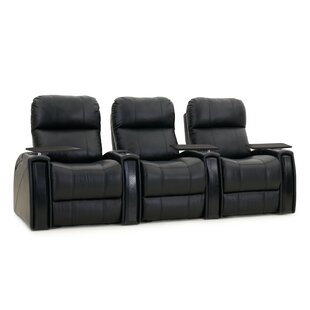 Red Barrel Studio Home Theater Recliner (Row of 3)