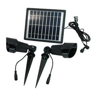 Solar Goes Green 4-Piece Spot Light Set