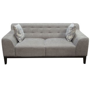 Marquee Tufted Back Standard Sofa by Diamond Sofa