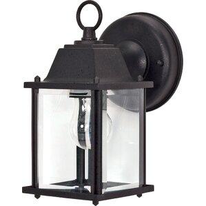 cube 1light outdoor wall lantern - Nuvo Lighting