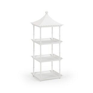 Pagoda Etagere Bookcase by Wildwood