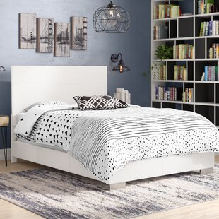 Arius Upholstered Panel Bed