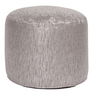 Bleeker Pouf Tall Ottoman by Everly Quinn
