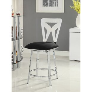 Forontenac Swivel Bar Stool by Latitude Run